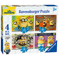 Ravensburger 4 in a Box Puzzles - Minions
