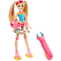 Barbie Video Game Hero Light Up Skates Barbie Doll