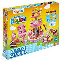 Nick Jr. Ready Steady Dough Cupcake Carousel Set