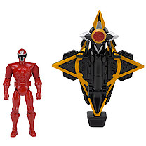 Power Rangers Mega Morph Cycle With Red Ranger