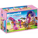 Playmobil 6856 Royal Couple and Carriage with Horse Mane to Comb