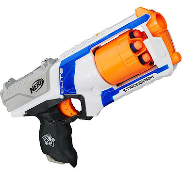 Image is loading Nerf-Guns-Stryfe-Dual-Strike-Jolt-Strongarm-and-