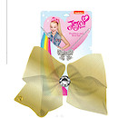 JoJo Siwa 20cm Metallic Faux Leather Bow And Necklace Set - Gold