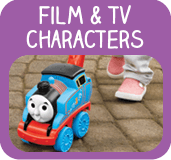 Baby and pre-school film and tv toys
