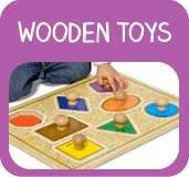 Baby and pre-school wooden toys