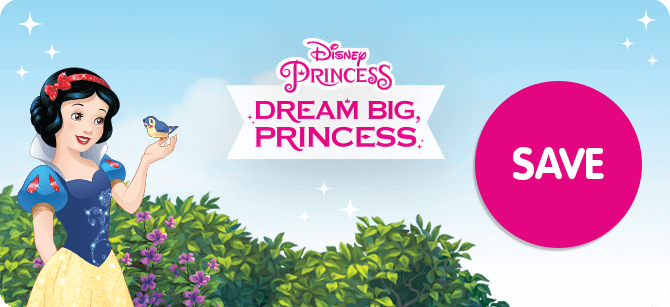 Disney Princess 25% off