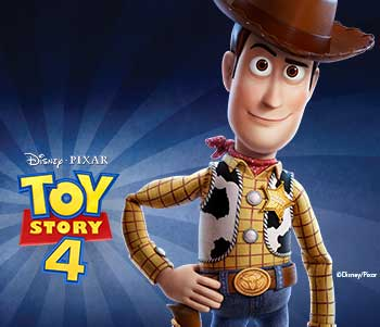 Toy Story 4 - Up To 50% Off!