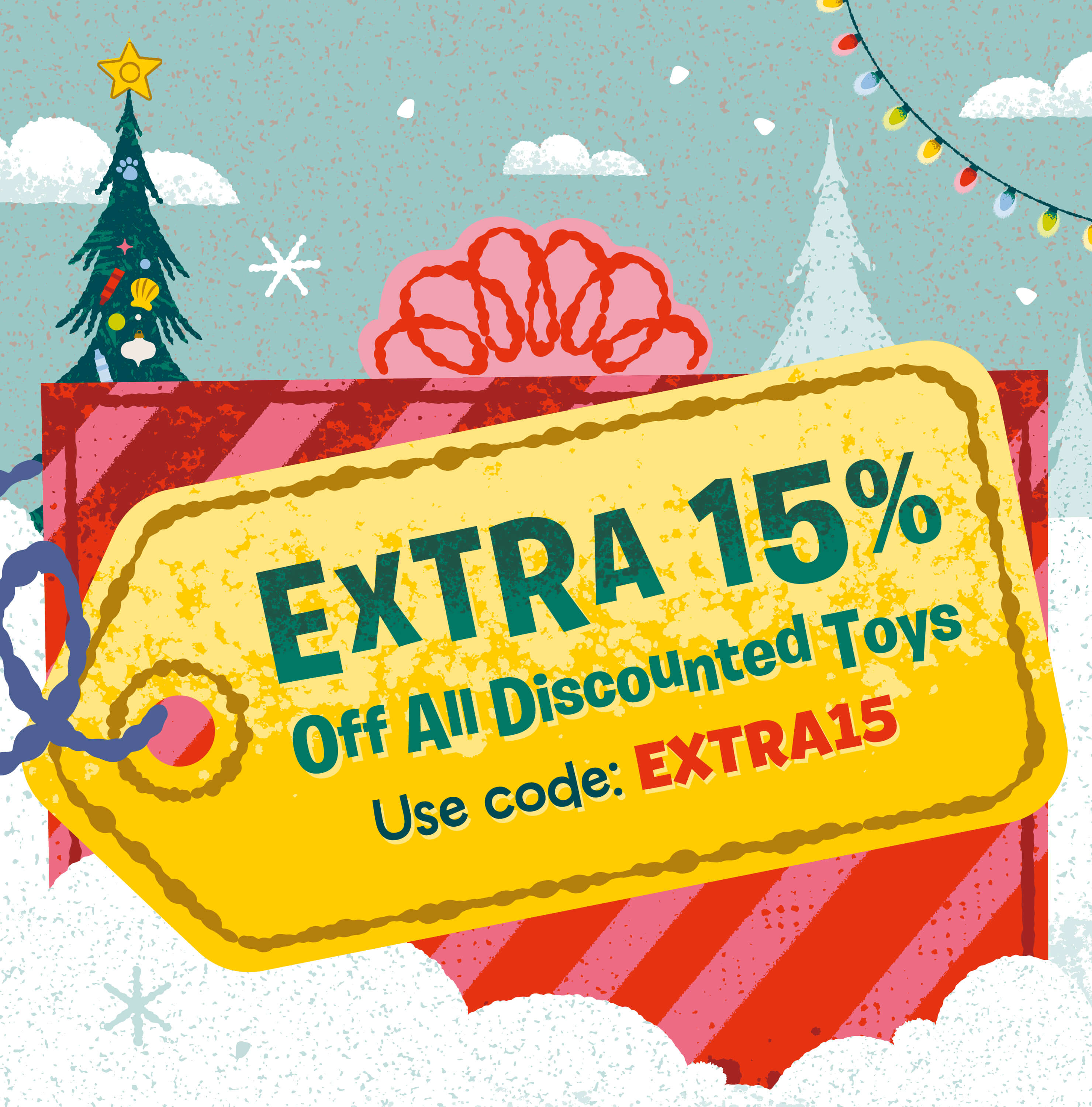 15% Off Discounted Toys