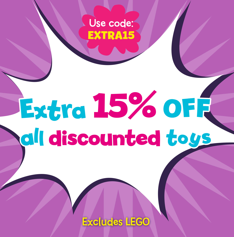 Extra 15% Off