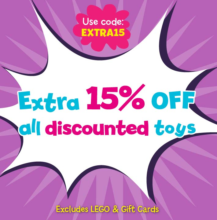 Extra 15 off Sale Toys