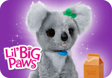 FurReal Friends Lil' Big Paws Toys