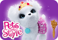 FurReal Friends Pets with Style toys