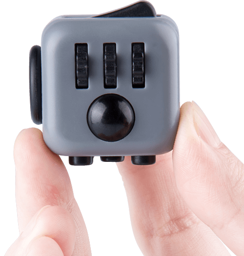 the original fidget cube the entertainer. Black Bedroom Furniture Sets. Home Design Ideas