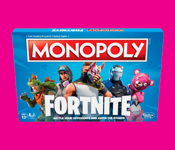 Pre-Order Monopoly: Fortnite Edition Now!