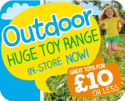 Outdoor Under £10