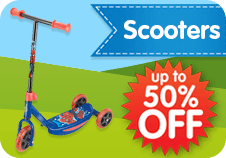 Scooters 50% Off