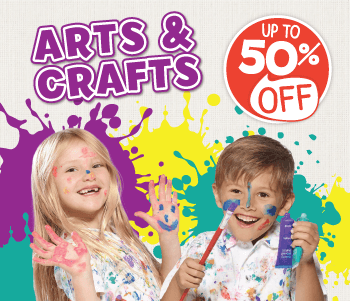 Arts & Crafts - Up To 50% Off!