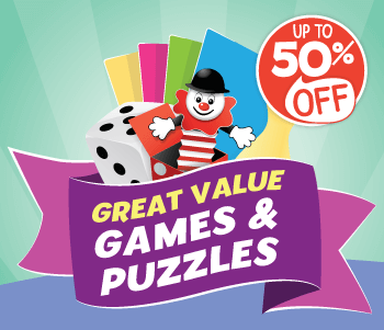 Up to 50% Off Games and Puzzles
