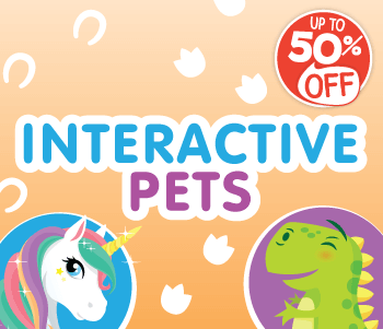 Interactive Pets - Up To 50% Off!