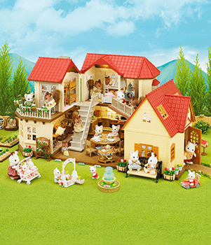 Sylvanian Families Home and Furniture