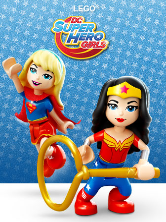LEGO DC Super Hero Girls Toys
