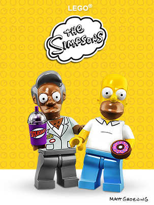 Lego The Simpsons Toys