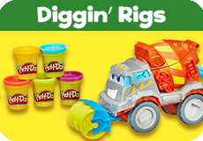 Play-Doh Diggin Rigs Toys