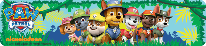 Paw Patrol Toys Top Banner