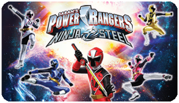 Power Ranger Ninja Steel Toys