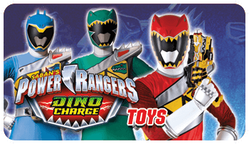 Power Ranger Dino Charge Toys