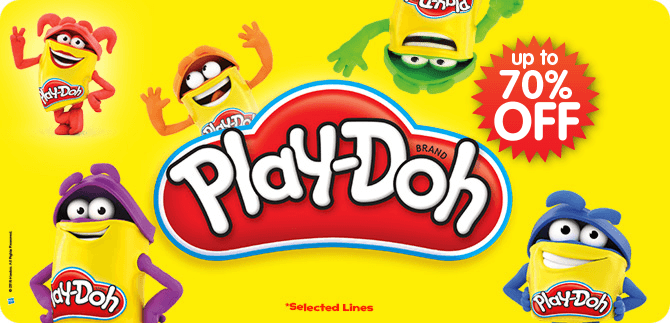 Play-Doh up to 70% Off