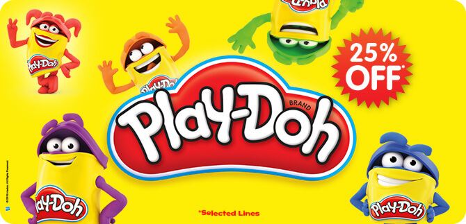 Play-Doh 25% Off