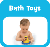 Baby and pre-school bath toys