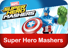 Super Hero Masher toys