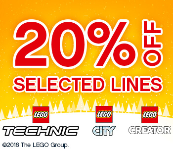 Up to 20% Off LEGO!