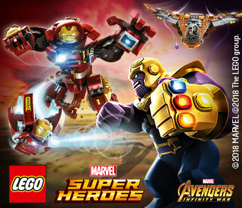 20% Off LEGO Marvel Super Heroes