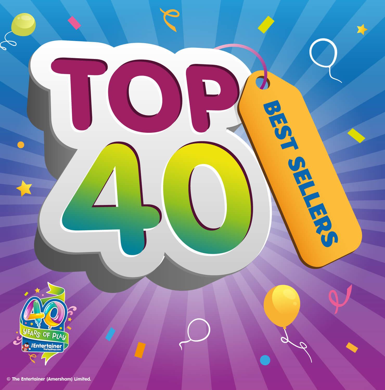 Top 40 Best Sellers!