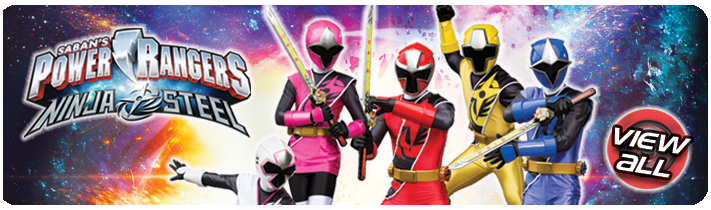 Power Ranger Toys View All banner