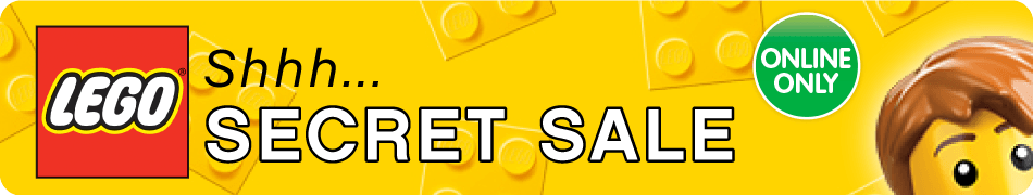 Lego Secret Sale