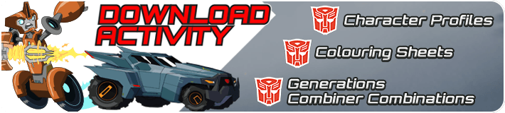 Transformers Activity Sheet Download