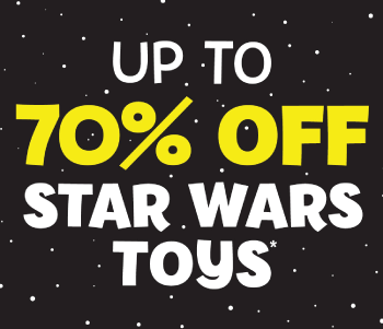 Star Wars Sale - Up To 70% Off!